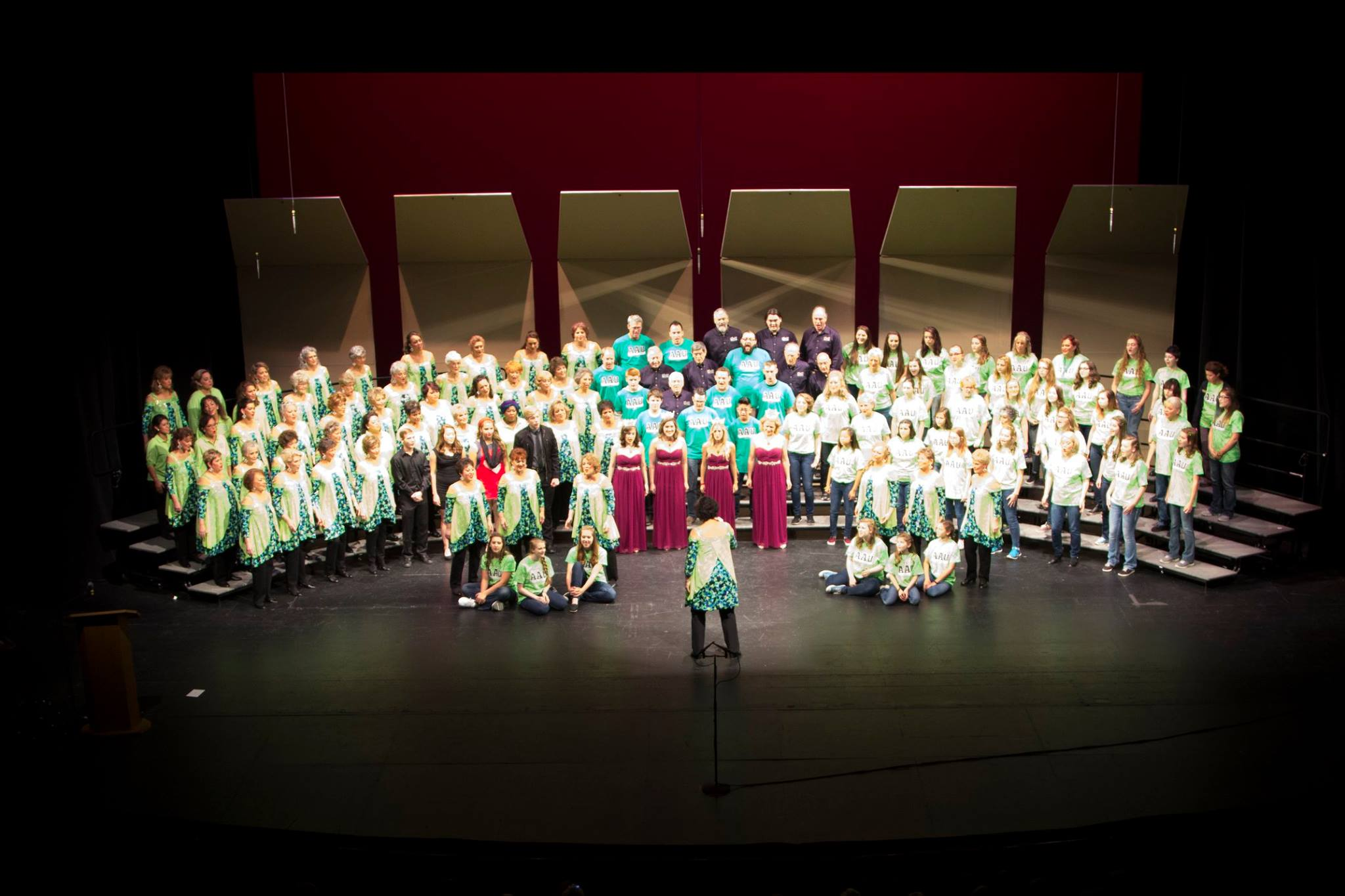 2016 Celebrate the Music Fall Show Finale with Alaska Sound Celebration, MIdnight Sons Chorus, AAU Boys and Girls and LoveNotes Quartet